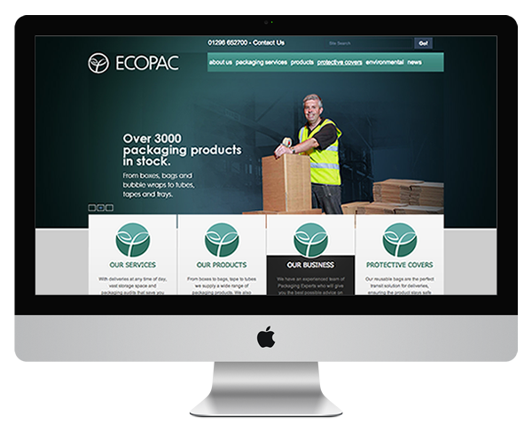 ecopac website screenshot