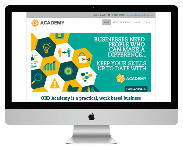 OBD Academy website screenshot