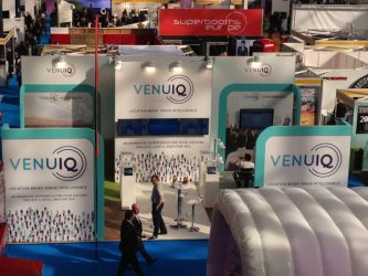 venuiq at confex 2016 - exhibition design by Awemous marketing