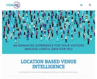 venuiq website screenshot