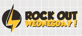 Rock out Wednesday logo