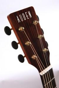 Auden guitars head stock