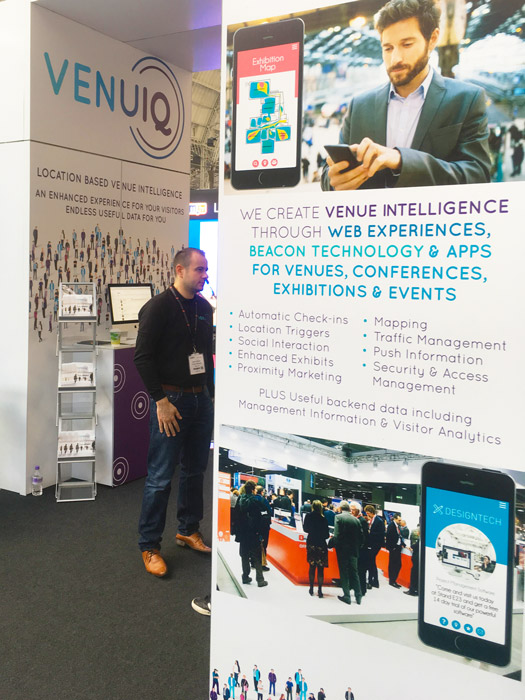 Event Graphics for VenuIQ at Confex 2017