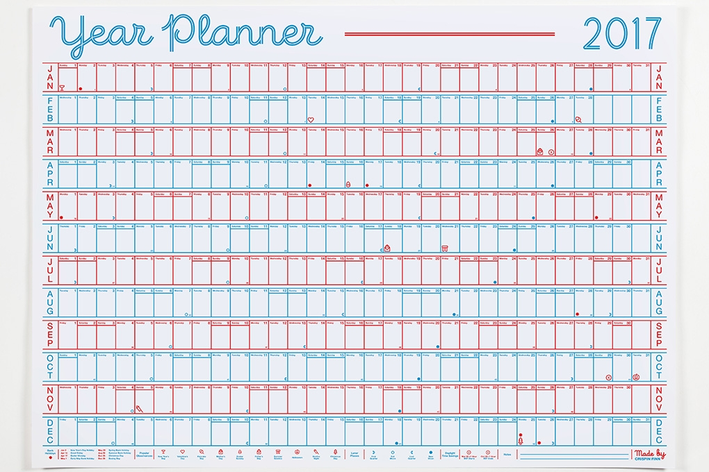 The Best Designer Wall Planners For 2017 Awemous