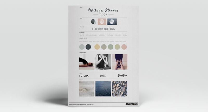 Philippa Stevens Brand Sheet image