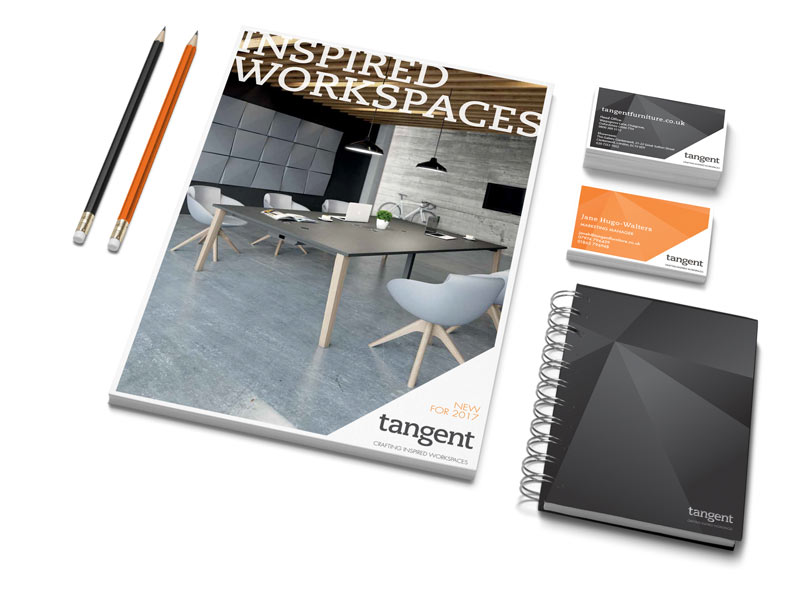 Tangent Furniture brand development