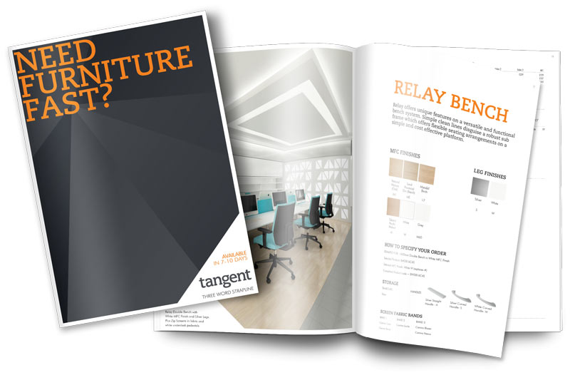 Tangent Furniture PDQ brochure