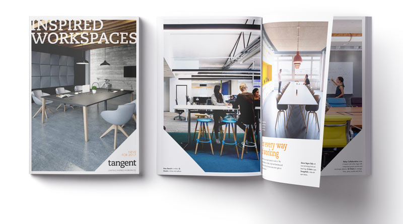 Tangent Furniture product showcase brochure