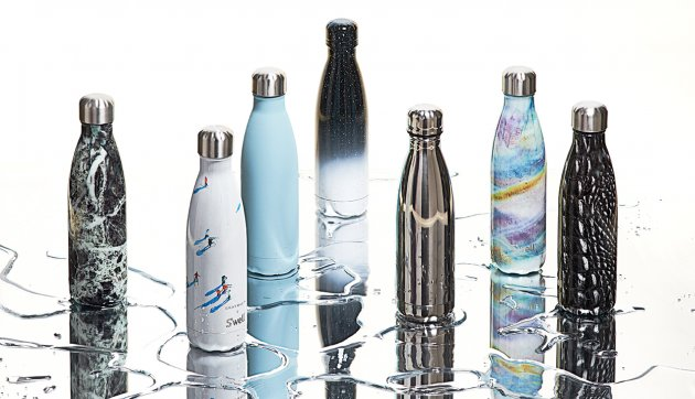 swell colourful water bottles