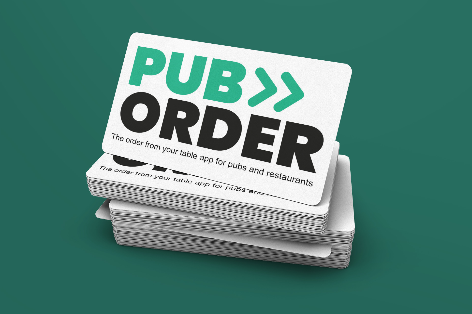 Pub Order Brand Business Cards